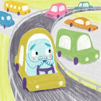 Yeti Takes the Freeway