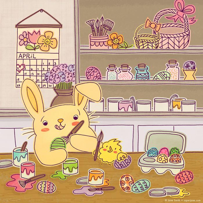 Easter Bunny's Workshop