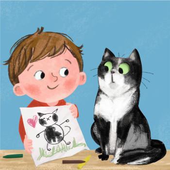 Alex & Mimi the Cat